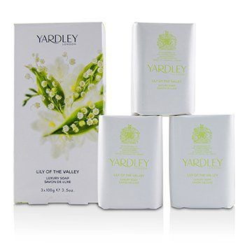 KIT SABONETE EM BARRA 100G - YARDLEY LONDON