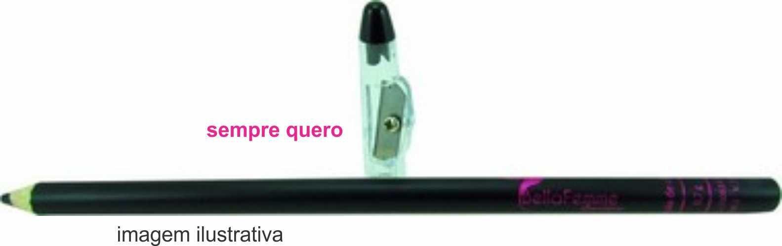 Lápis de Olho Preto 0.7grs - Bella Femme