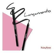 LÁPIS DELINEADOR PRETO - RUBY ROSE