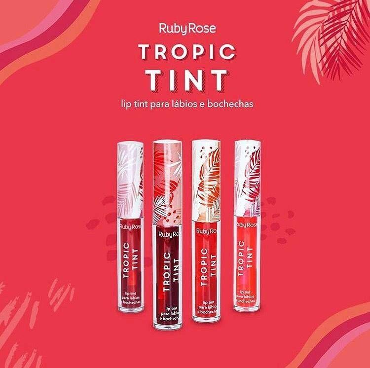 LIP TINT - TROPIC TNT - RUBY ROSE