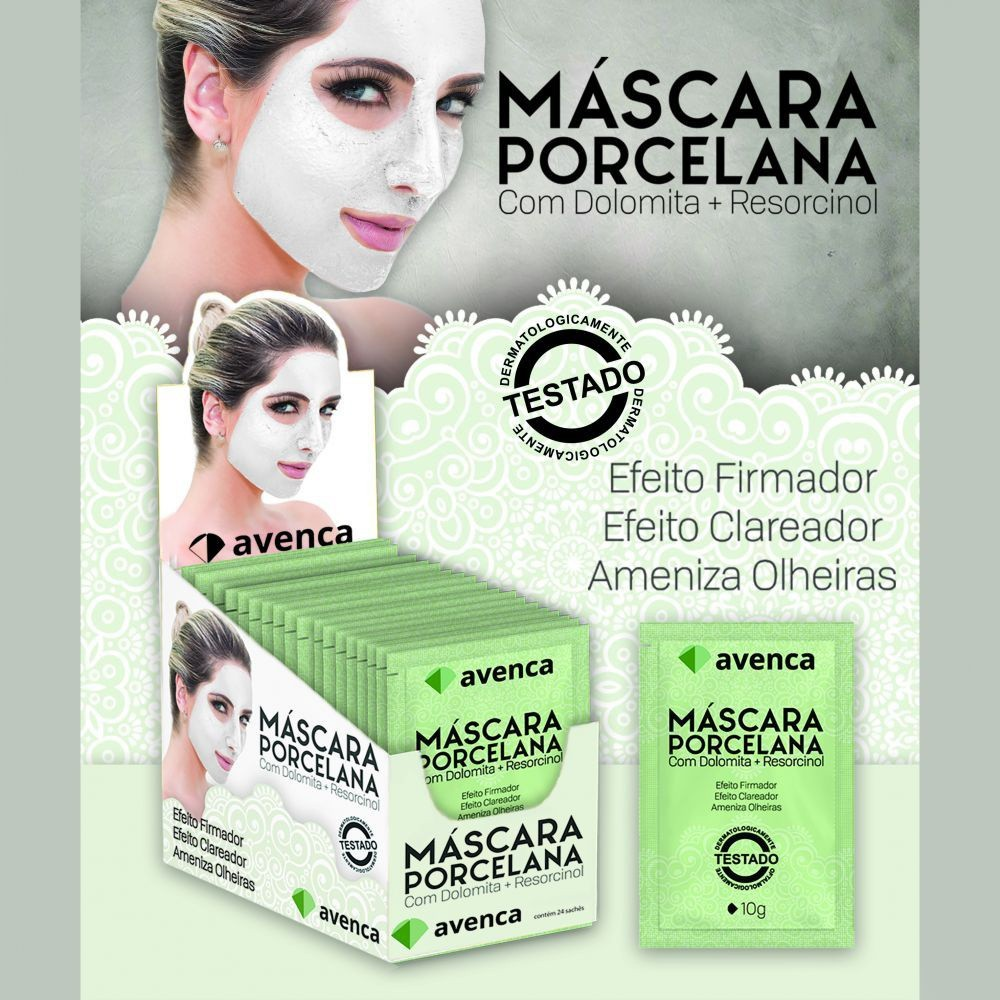 MASCARA DE PORCELANA - AVENCA