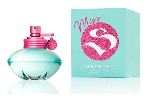 Perfume feminino MISS BY SHAKIRA 80ml