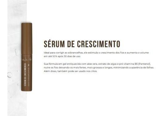 SERUM DE CRESCIMENTO PARA SOBRANCELHA - VULT 4G