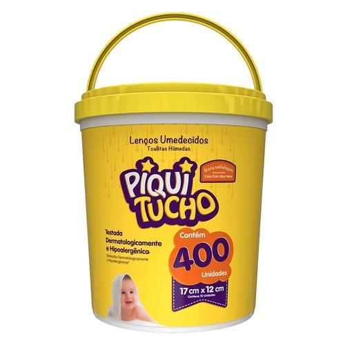 TOALHA UMIDECIDA 400UNIDADES - PIQUITUCHO