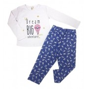 Kit 4 Pijamas Divertidos Camiseta + Calça