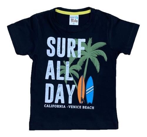 Kit 4 Camisetas Gola Careca