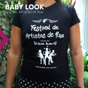 Baby look do 4º Festival de Artistas de Rua