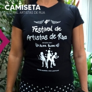 Camiseta do 4º Festival de Artistas de Rua