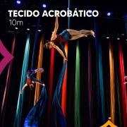 Tecido Acrobático Circense 10 metros