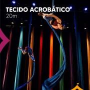 Tecido Acrobático Circense 20 metros