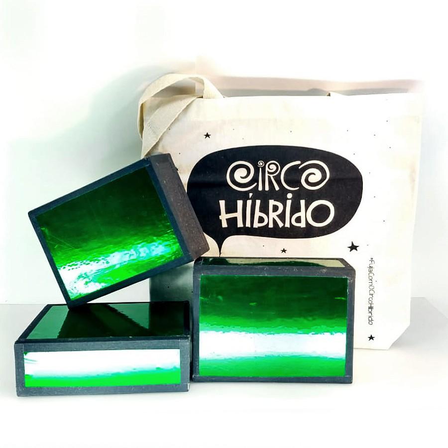 3 Caixas Cigar Box