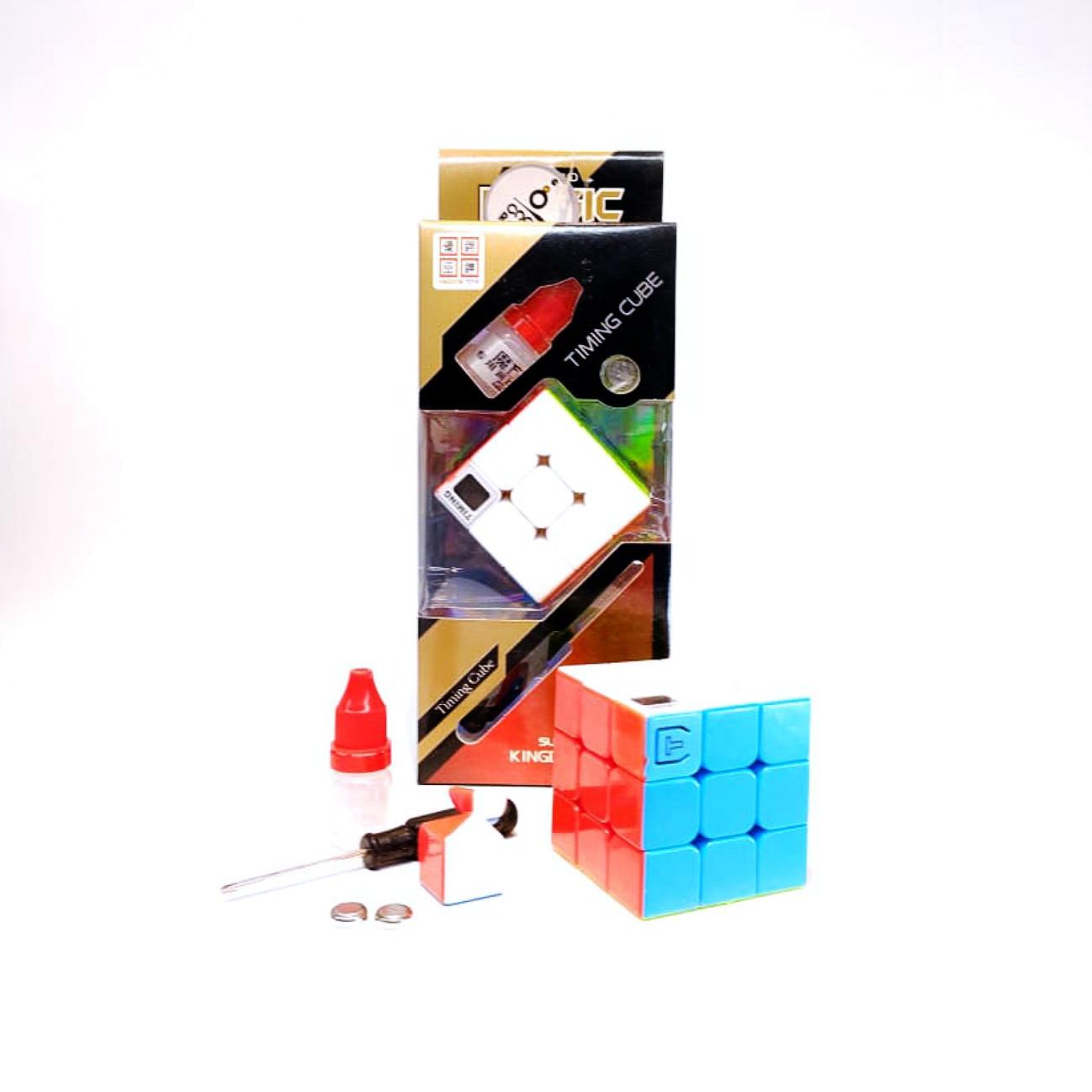 3X3X3 Cubo Mágico Timing