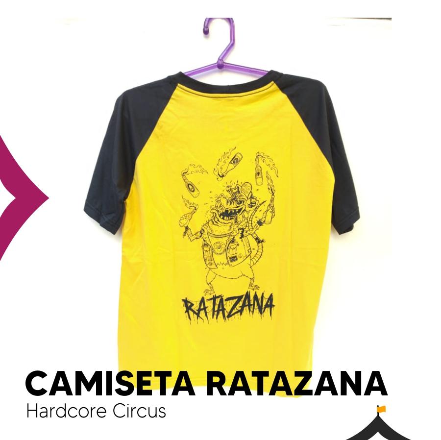 Camiseta Hardcore Circus Ratazana
