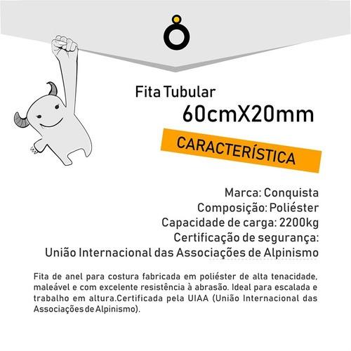 - Fita Tubular 60 Cm - Acrobacia Aérea
