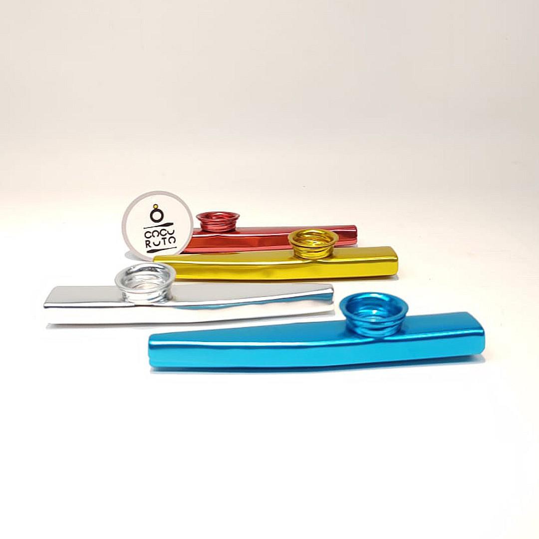 Kazoo | Instrumento de Sopros Portátil