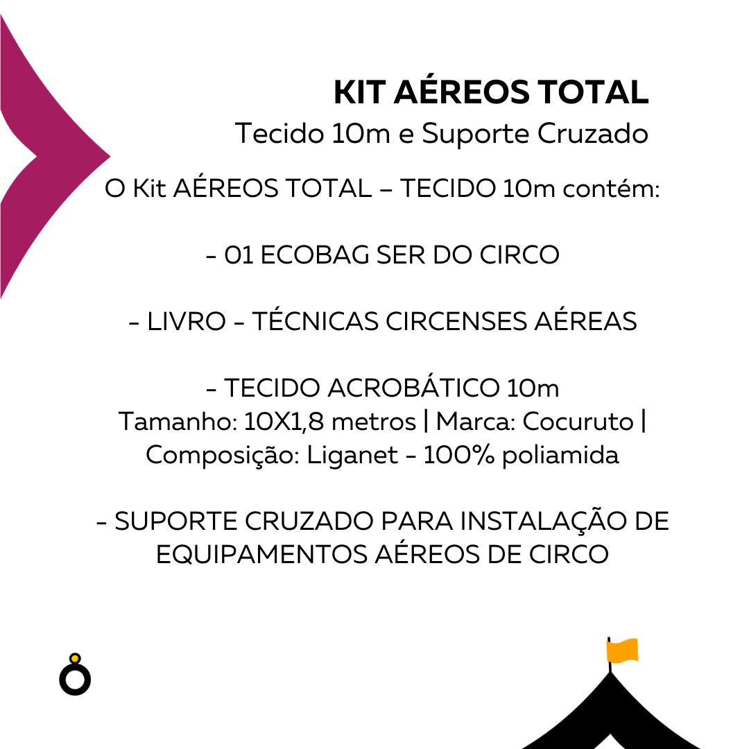 Kit Aéreos Total - Tecido 10m