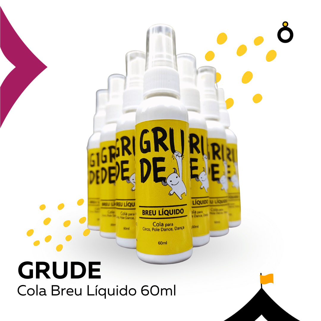 Spray Breu Liquido 60ml - Cola Tecido Acrobático, Pole, Trapézio
