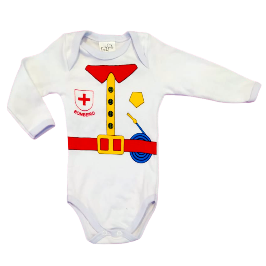 Body Bebê Profissão 3 peças