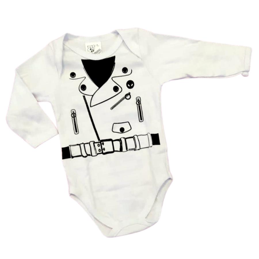 Body Bebê Smooking 3 peças