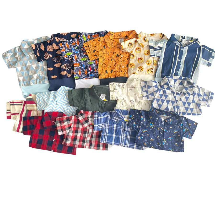 Body Camisa 3 peças