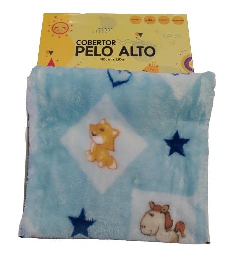 Cobertor Infantil Zoo Jolitex 90 cm x 1,10 m