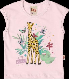 Conjunto Bebê Safari Girafa