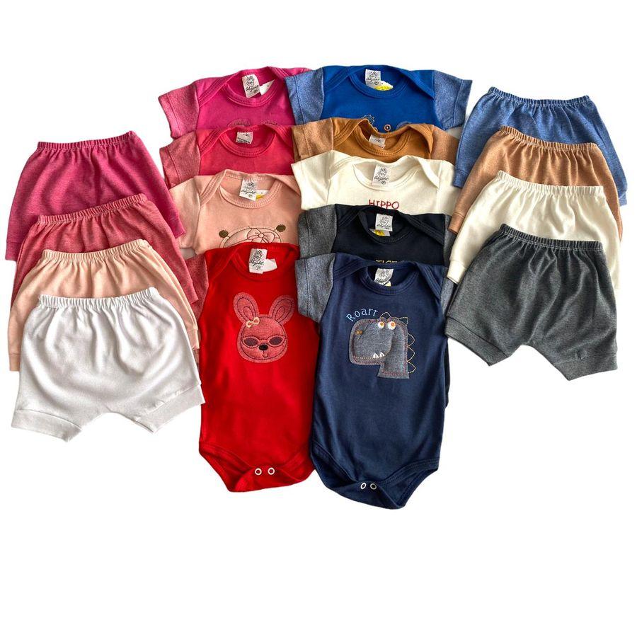 Conjunto Body e Shorts 4 Peças