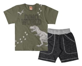 Conjunto Dino Style Menino