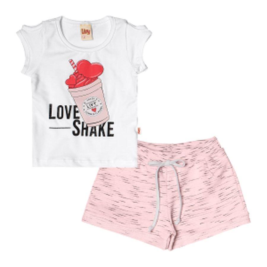 Conjunto Menina Shake