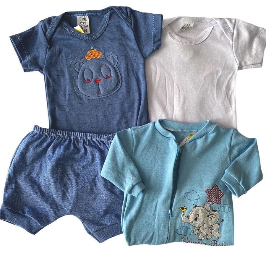 Kit Body Shorts e Macacão