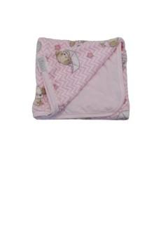 Manta Afeto Cachorrinho de Bebê 88 cm x 108 cm