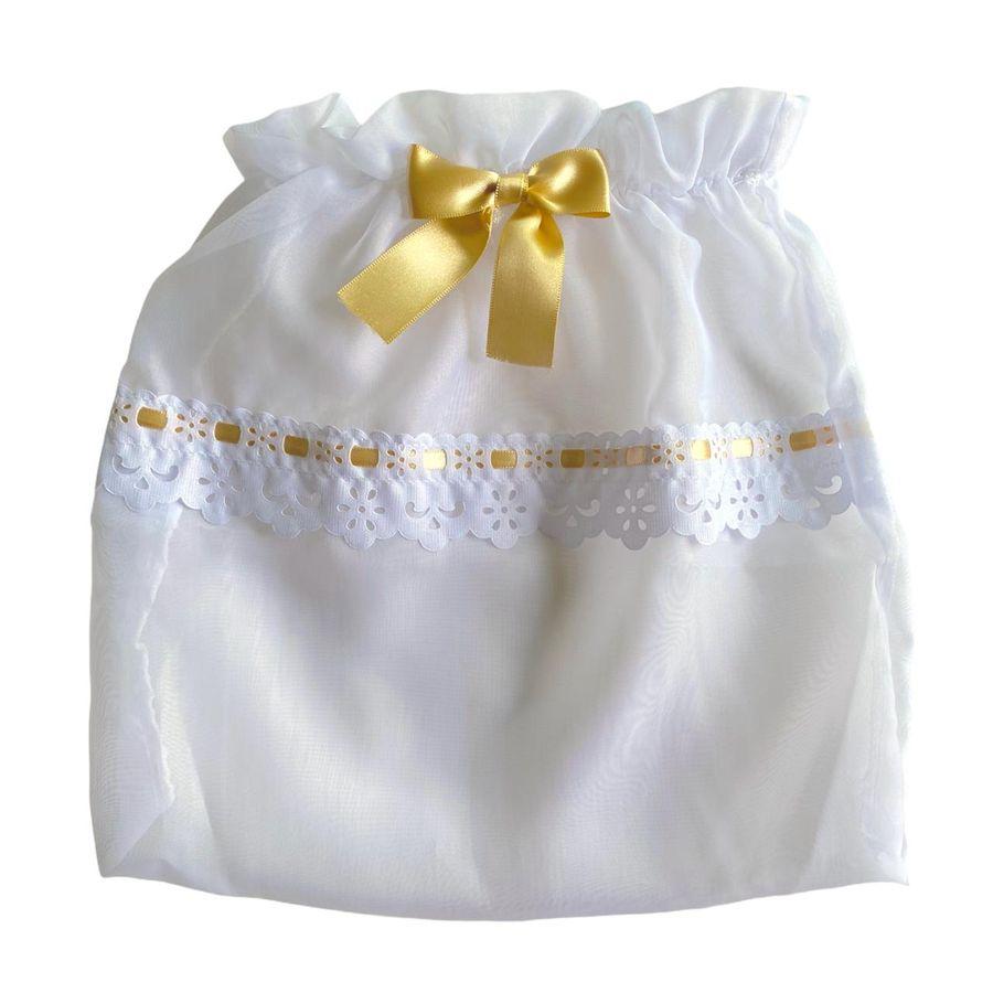 Saquinho Maternidade Embalagem 3 Unidades 30x32 cm