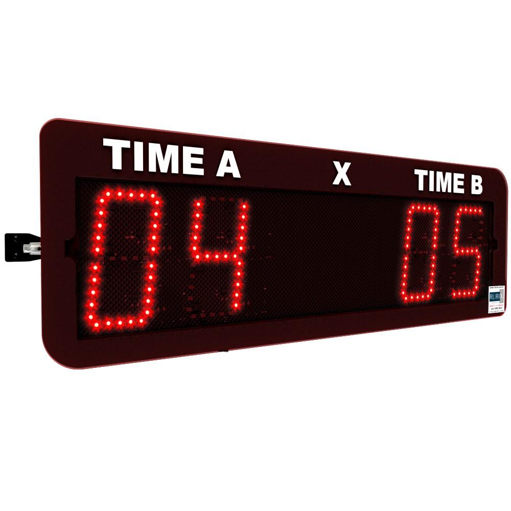 Placar eletrônico de led para futebol com controle remoto