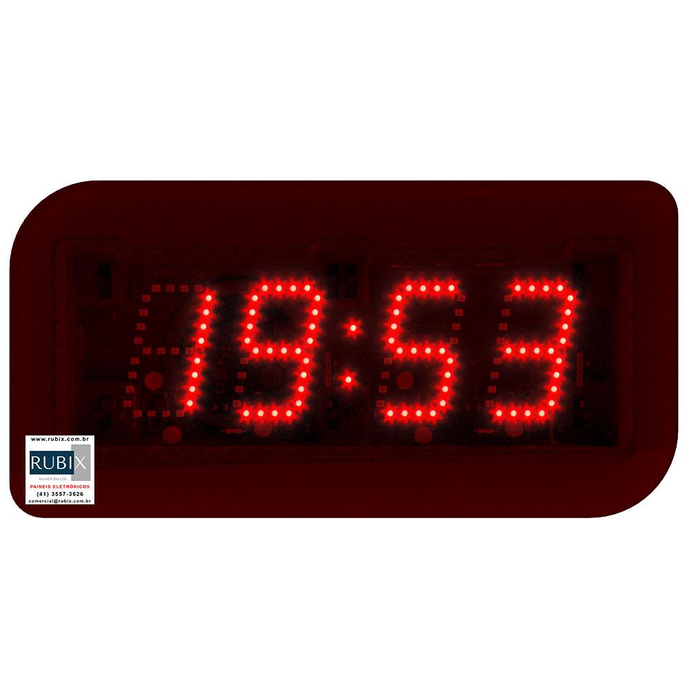 Relógio – Cronometro eletrônico CROSSFIT de led com dígitos de 5cm