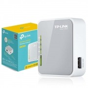 Roteador Mini Tp Link Tl-mr3020 Portatil 3g/4g C/ Porta Usb