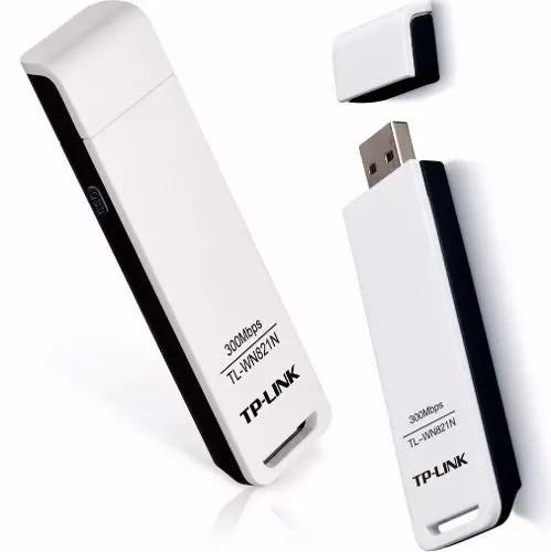 Adaptador Wifi Usb Tp-link Tl-wn821n 300mbps