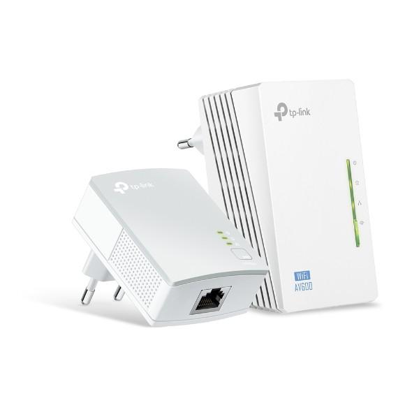 Kit Extensor de Alcance WiFi Powerline TP-LINK TL-WPA4220 AV600 WI-FI