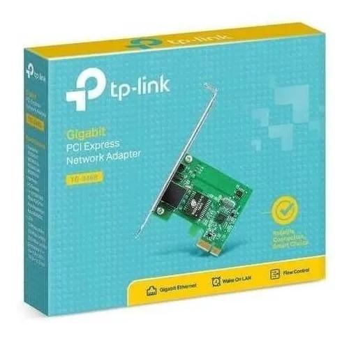 Placa Rede Pci Express Tp-link Tg-3468 Gigabit 10/100/1000