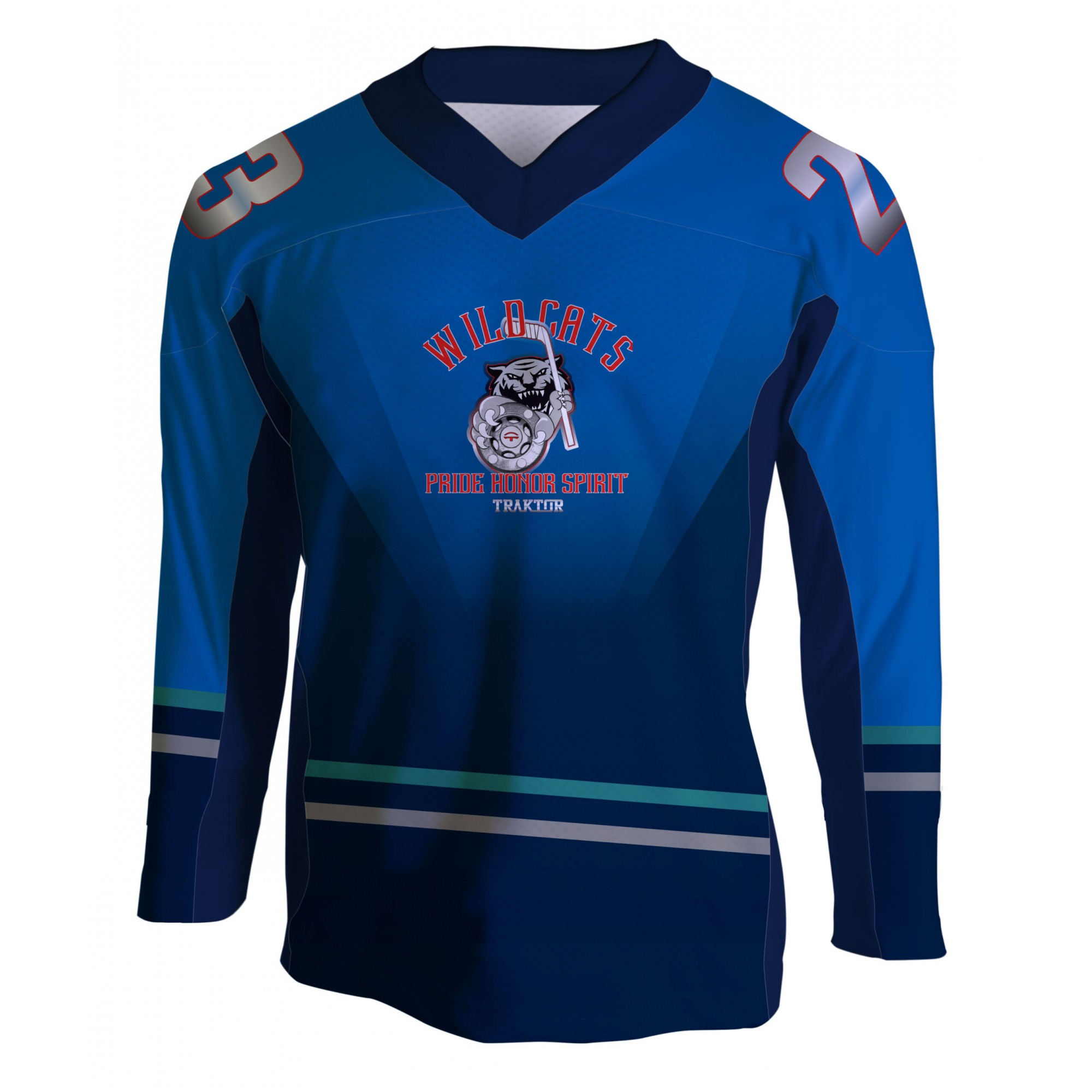 CAMISA HOCKEY CASUAL WILD CATS