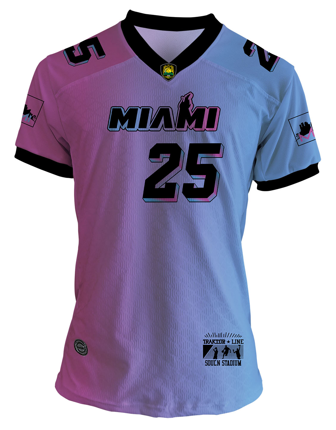 CAMISA MIAMI MIND'S CITY SPECIAL EDITION DEGRADÊ