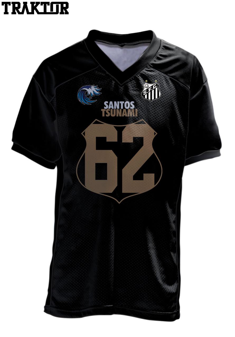 CAMISA SANTOS TSUNAMI OFICIAL 2019