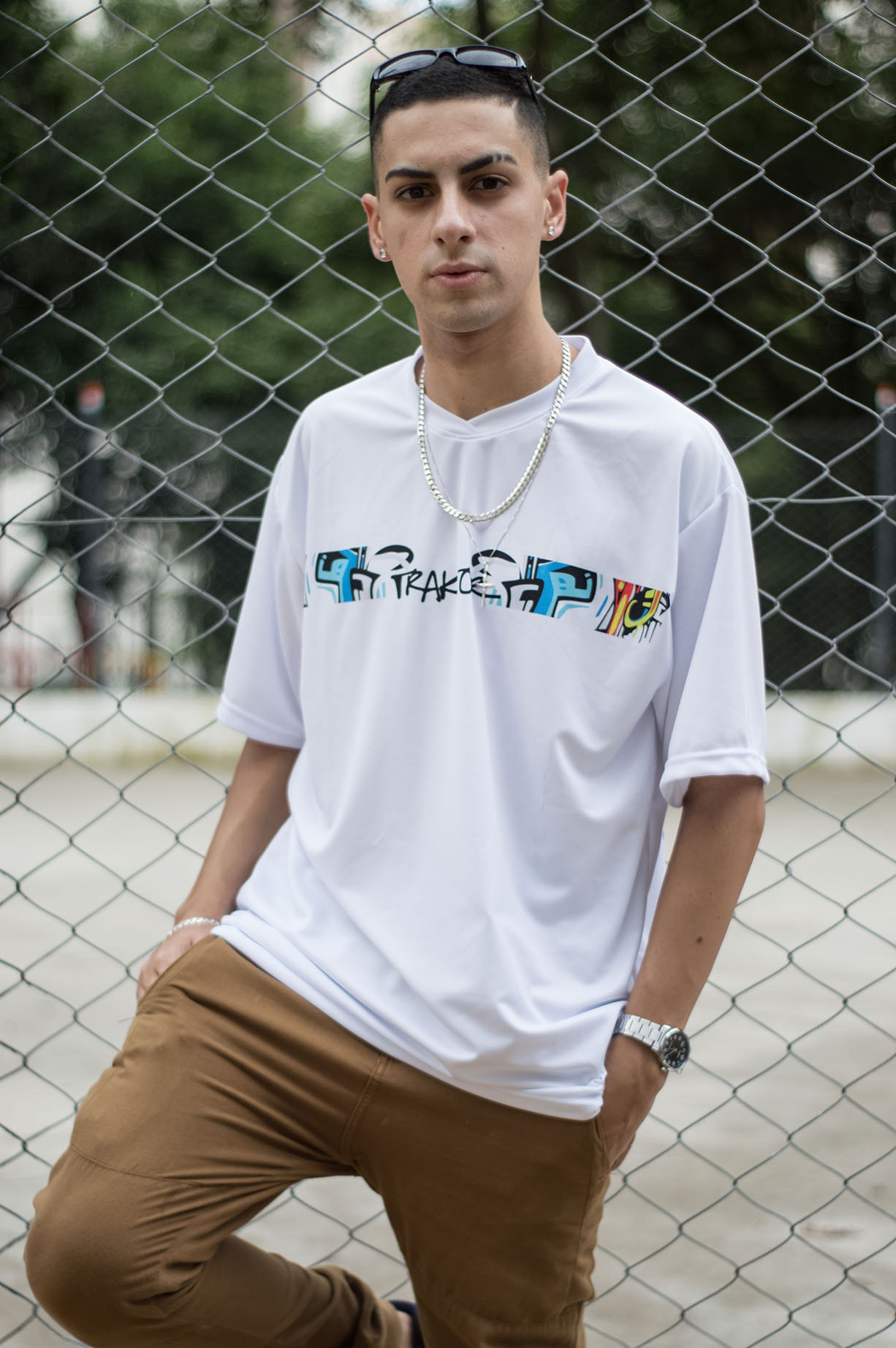 CAMISETA GRAFFITI T-SHIRT TRAKTOR