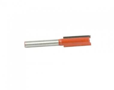 Broca de Widea Para Tupia Corte Reto 12mm Haste 6mm Fepam