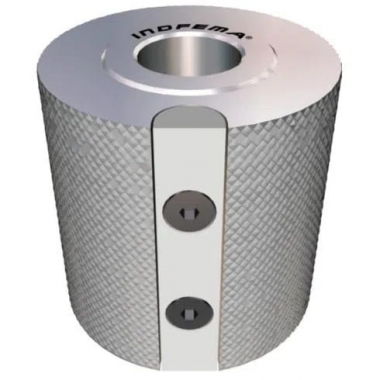 Cabeçote Porta Lixa Para Tupia 75 x 80 x 30 INDFEMA