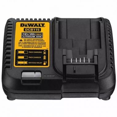 Carregador de Bateria 12V à 20V LI-ION DCB115-BR 110V DEWALT