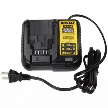Carregador de Baterias 12V à 20V Lithium DCB107-BR Bivolt DEWALT