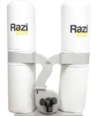 Coletor de Pó com 3 Bocas 3CV Trifásico 220/380T RZ-CPT3T2 Razi
