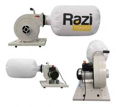Coletor de Pó de Parede para Marcenaria 220V RZ-CP1MB Razi