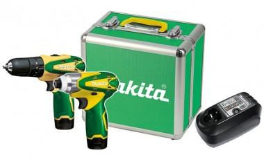 Combo Parafusadeira Makita 12V 3/8 DK1493BR (HP330D/TD090D)