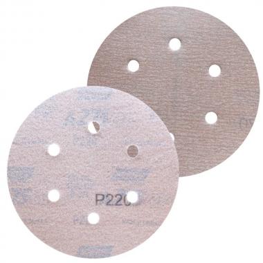 """Disco de Lixa Com Velcro 6"""" Com Furos A275 NORTON"""